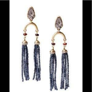 Rebel Statement Tassel Earrings